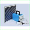 la luz del sol verde de ahorro de energía portátil de energía solar sistema