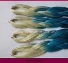 Hot selling stock synthetic hair extensions for braiding