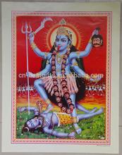 3d indian god gold foil picture