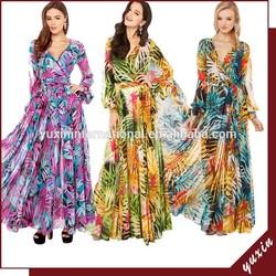 Wholesale Simple Long Dress, Wholesale Chiffon Maxi Dress MX001