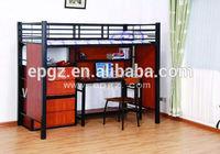 Fashion Student Bunk Metal Bed.Metal Frame Red Bunk Bed