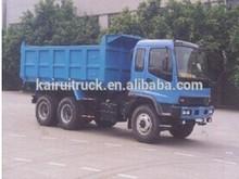 Isuzu camión de volteo 6x 4, camiones de servicio pesado, volquete