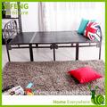 Moderno diseño de comprar una sola cama plegable/de metal plegable cama