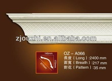 PU Carved Corner moulding/ceiling line /home decor/classic cornice/construction materials