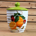 decalque fabricante de cerâmica cookie jar mel