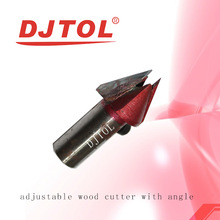 Adjustable wood cutter with angle (N series) MDF milling cutter
