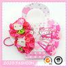 Fashion hello kitty hair accessories set in high quality