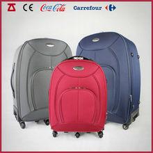 600D EVA material three set five wheels suitcase for brazil market