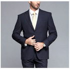 classic style business suit design of bespoke suit