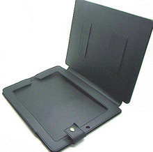 Hard cover silicone case for tablet pc pu leather