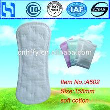 waterproof panty liner feminine tampons sanitary pad for girls