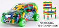 divertido 2015 creativo de plástico bloques de construcción de juguetes para niños