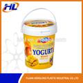 el envase de yogur