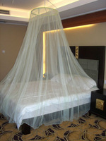 King size bed round circular portable folded mosquito net
