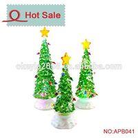 LED new design Acrylic spiral christmas tree light