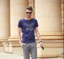 oem service water/rubber printing t shirt custom design