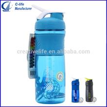 25oz. Shaker Bottle Blender Bottle with Stainless Steel Ball