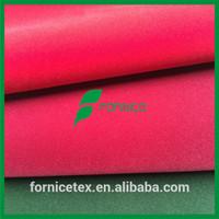 China factory 50% nylon 50% rayon tricot flocking fabric