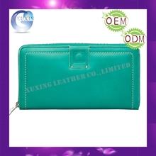Newest Customized zipper pu lady purse