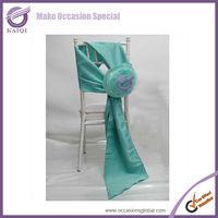 k1935 aqua flower fabric materials for flower making wedding flower balls