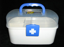Fashion design hot sale multifunctional plastic medicine chest wholesale
