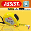 assist made in China for Europe and American cute plastic gift LED light measuring tape