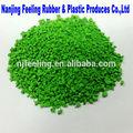 De color gránulos de caucho epdm 10- luz verde- flg07