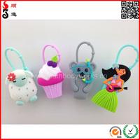 high quality various 3d cartoon designs pocketbac silicon hand gel case