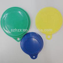 Plastic pet food tin can lids/tin lid