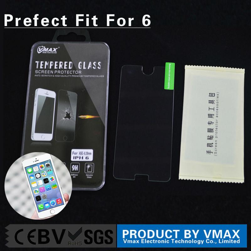 แสงจ้าป้องกันสำหรับasahi9h2.5dระเบิดหลักฐานโทรศัพท์มือถือที่ชัดเจนพรีเมี่ยมทองกระจกป้องกันหน้าจอiphone6/6บวก
