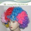 2014.Color clown wig/Football fan wig/Halloween wig