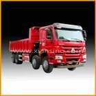 HOWO 8X4 DUMP TRUCK LHD / RHD from china