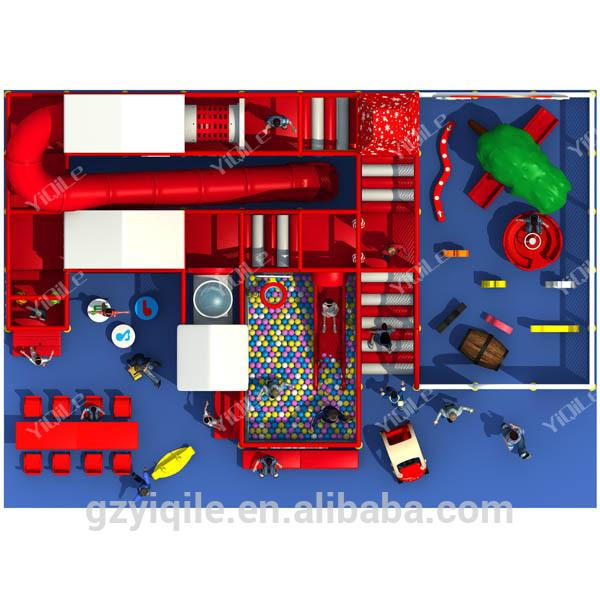 Merry Christmas theme design nursery indoor playground kindergarten indoor equipment for childrenen