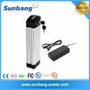 lithium ion e-bike battery 36v 10Ah rechargeable li-ion battery