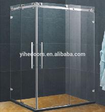 New Shower room for top hung sliding door
