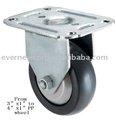 heavy duty industrial fijo caster rueda