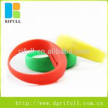Cheapest motion sensor silicone led flashing bracelet