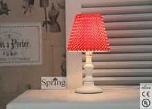 New Hot Classic Wooden Polka Dot Table Lamp Made in China
