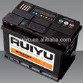De calidad corea battery57539/57531/57512 din75 12v75ah la batería del coche auto de la batería