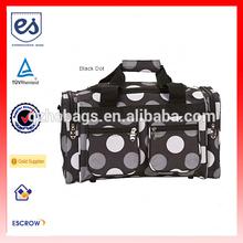 New Design Multi Dot 19-inch Carry On Duffel Bag/Weekend Bag