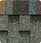 goethe red asphalt roofing shingles / colored roof tiles / roofing membrane