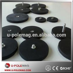 Dia 88mm Multi-poles Rubber Covered POT Magnet