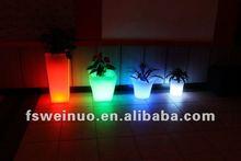 2015 weinuo LED chrismas party festival flower pot decoration 871 0