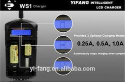 EFAN WS1 smart LCD battery charger for IMR/Li-ion/Ni-MH/AA.AAA/Ni-CD batteries