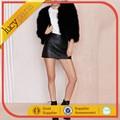 زائد حجم النساء في فصل الشتاء الدافئة معطف الفرو فو معطف ذات جودة عالية