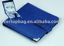 Creative custom design beautiful cd&dvd holder wallet