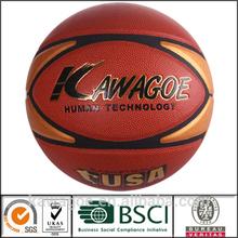 size 7 PU Laminated Basketball
