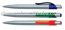 promotional plasitc manual pen writing supply