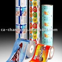 foil plastic film for skincare sachet packaging