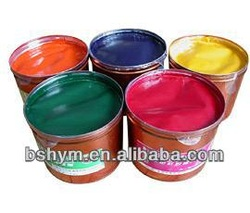 offset printing ink / soybean offset ink / resin offset printing ink